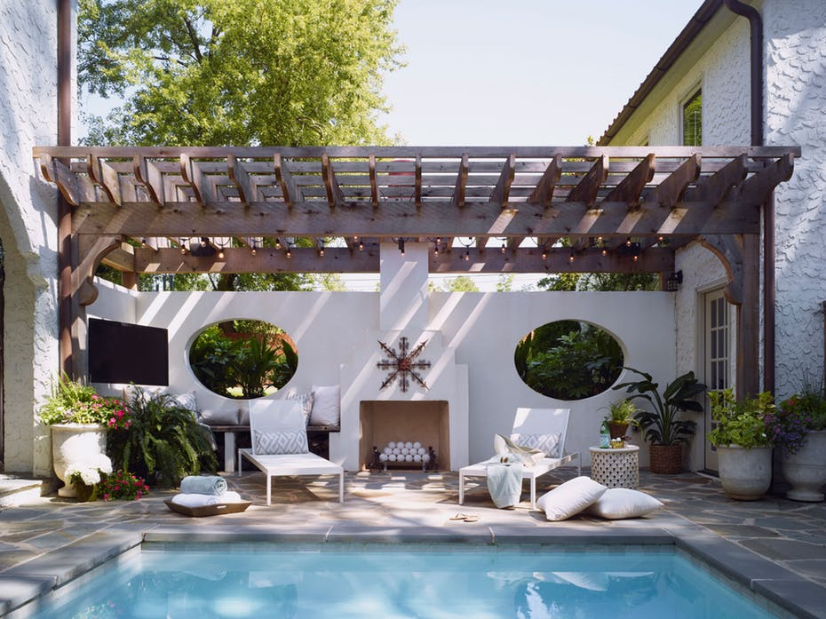 pool pavilion ideas