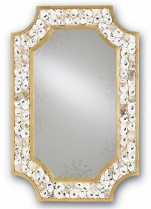 Margarethe Seashell Mirror