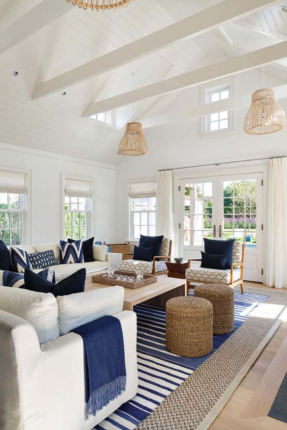 House Drawing Room Designs: 5 Must-Haves For Your Nantucket Style Living Room