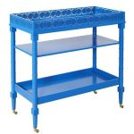 Mayfair Blue Serving Cart