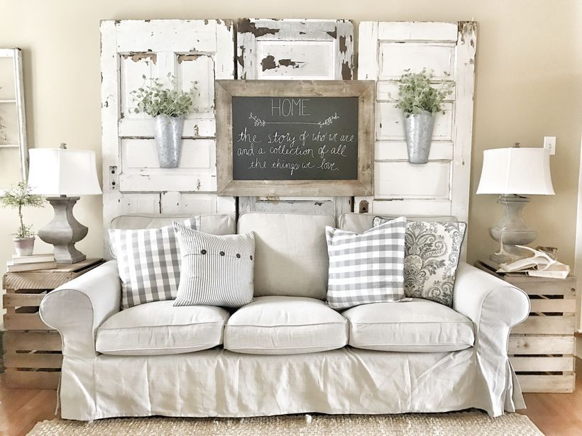 decorate farmhouse style textures