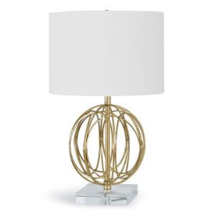 Ofelia Table Lamp - Gold Finish