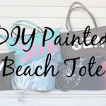 Make Your Own DIY Painted Beach Tote