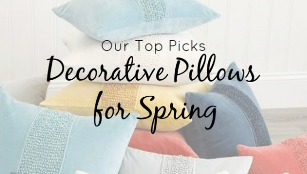 Coastal Themed Decorative Pillows for Spring – Our Top Picks