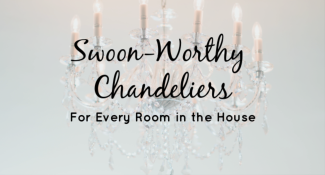 coastal decor - decorating with chandeliers