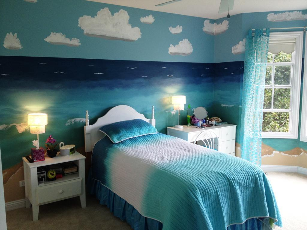 Beach-Themed Bedroom Ideas Your Teenager Will Love  Cottage