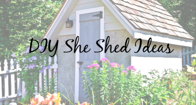 diy she shed ideas